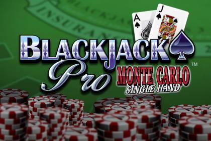 BlackjackPro MonteCarlo