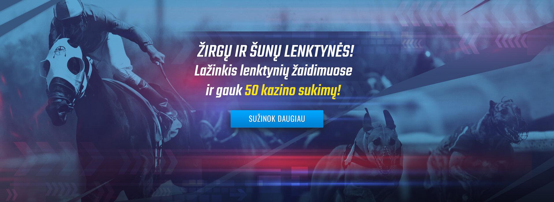 SUNU ZIRGU LENKTYNES AKCIJA