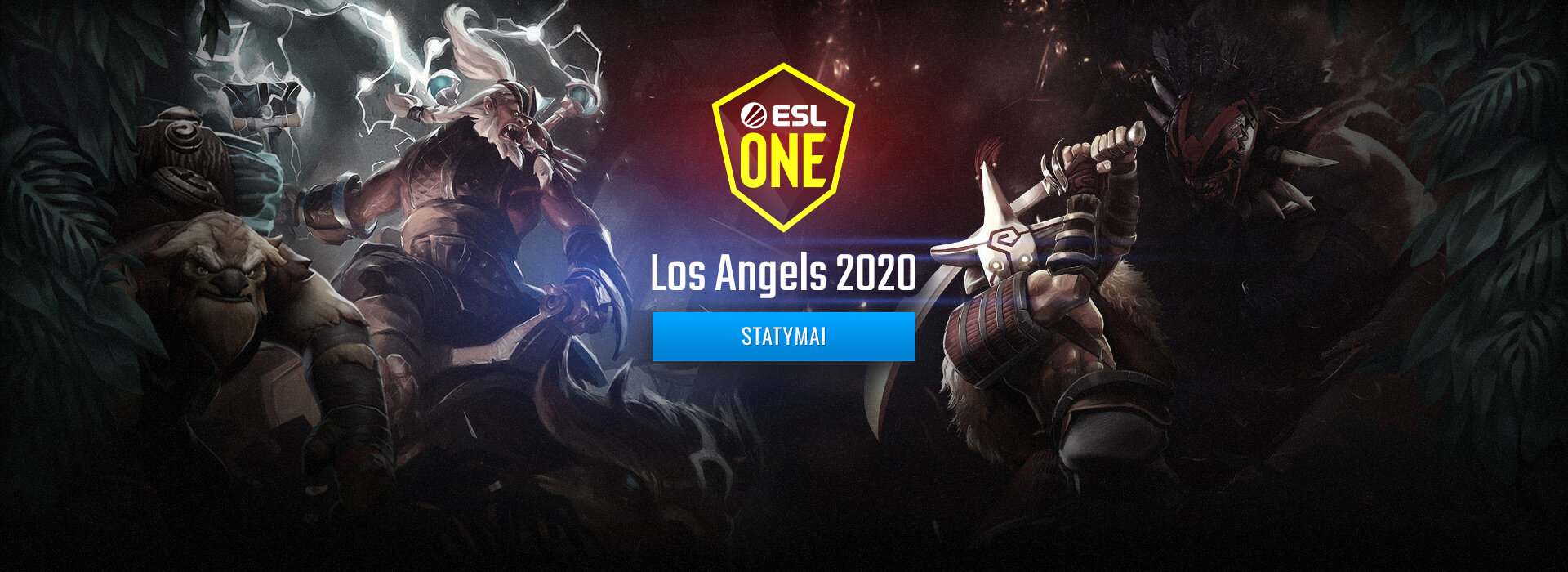 Dota 2 ESL One Los Angeles