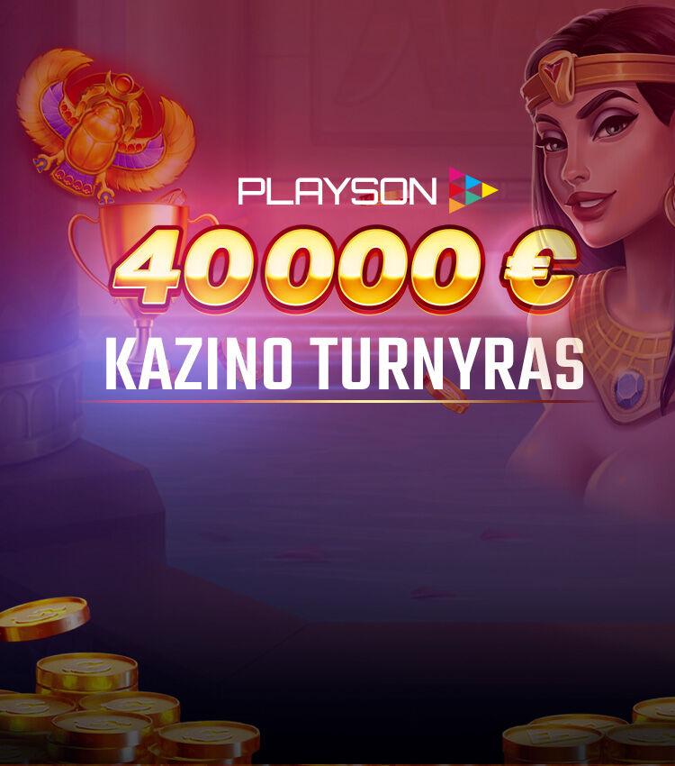 Playson Turnyras 2