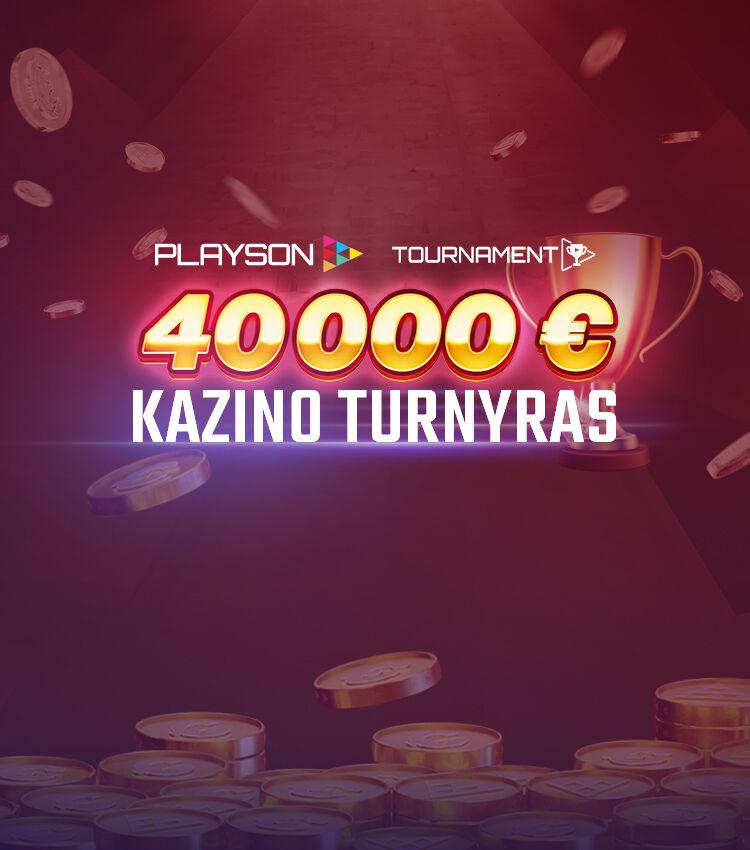 Playson Turnyras 3