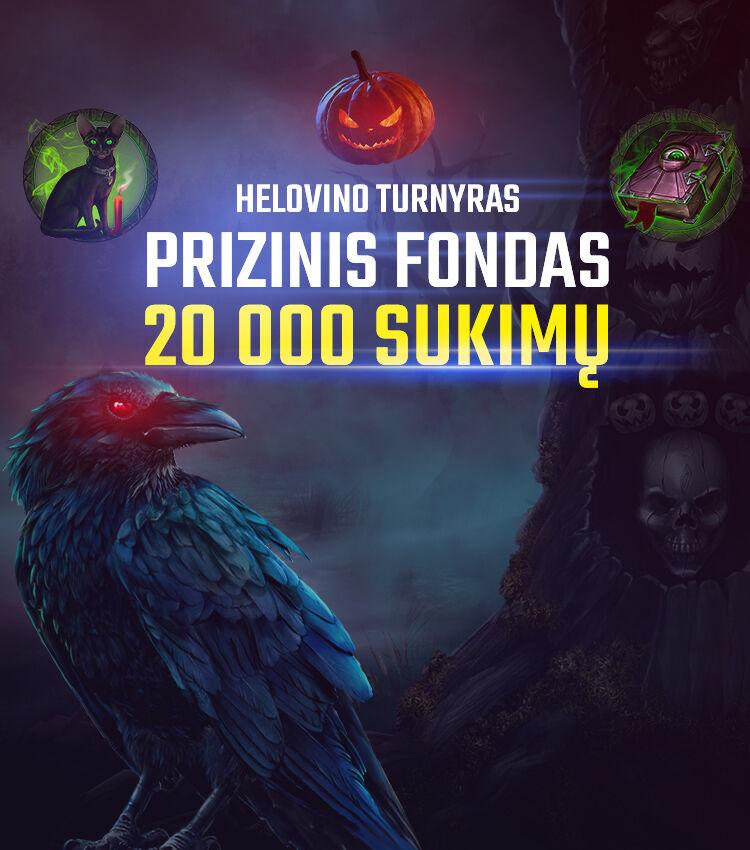 Helovinas turnyras 2020