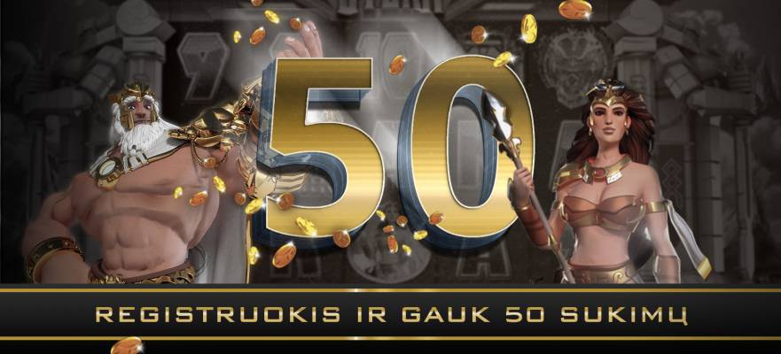 REGISTER NOW AND GET 50 FREE SPINS!