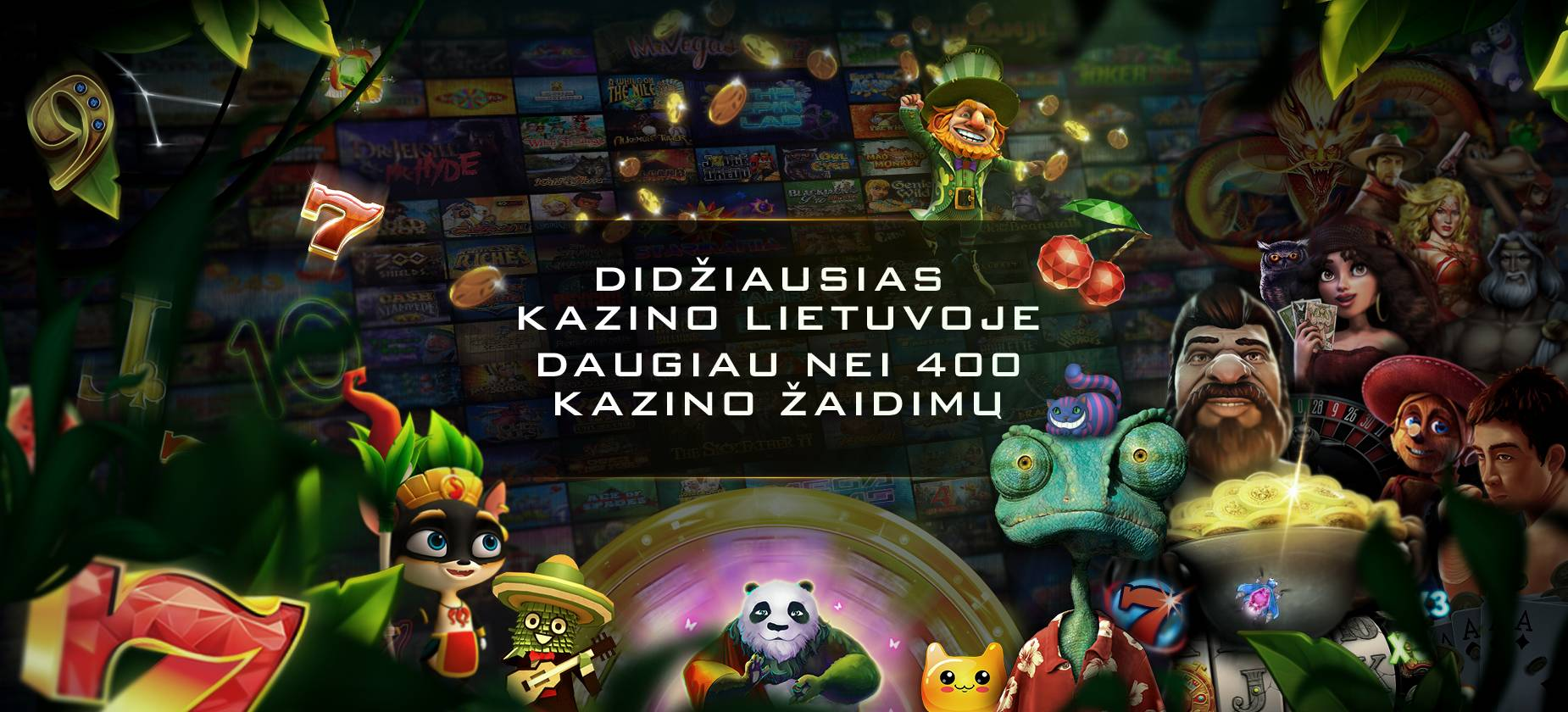 Didžiausias Kazino Lietuvoje Daugiau Nei 400 Žaidimų