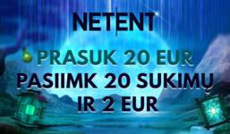 NETENT BLITZ PASIŪLYMAS
