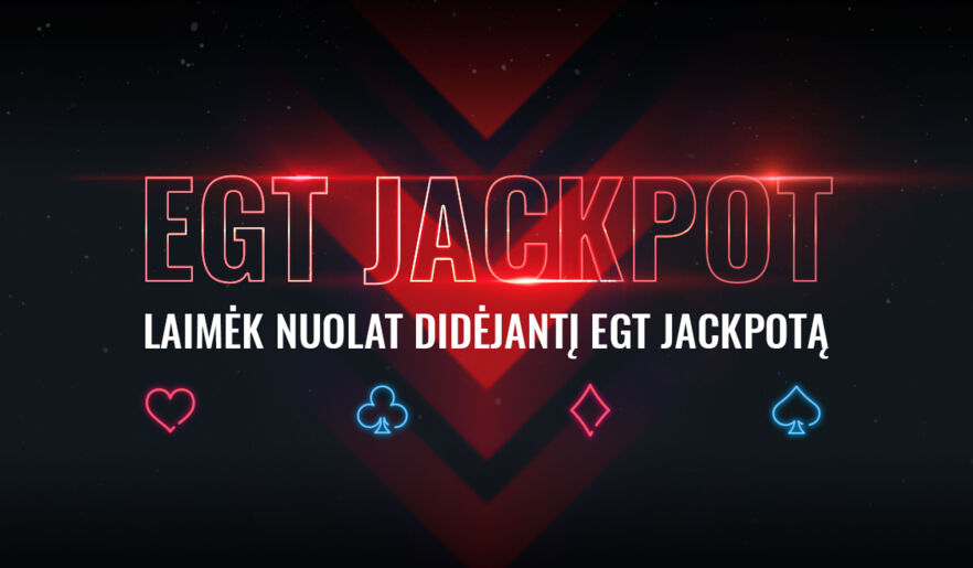Jackpot - in all EGT games