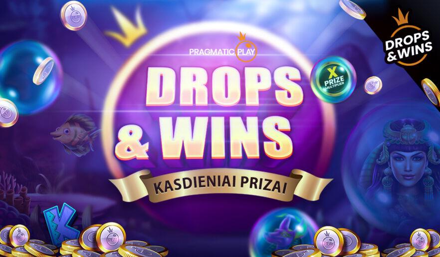 Drops & Wins PragmaticPlay žaidynės