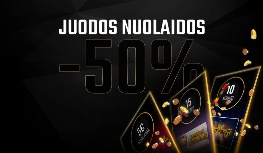 JUODOS TOP KLUBO NUOLAIDOS -50%