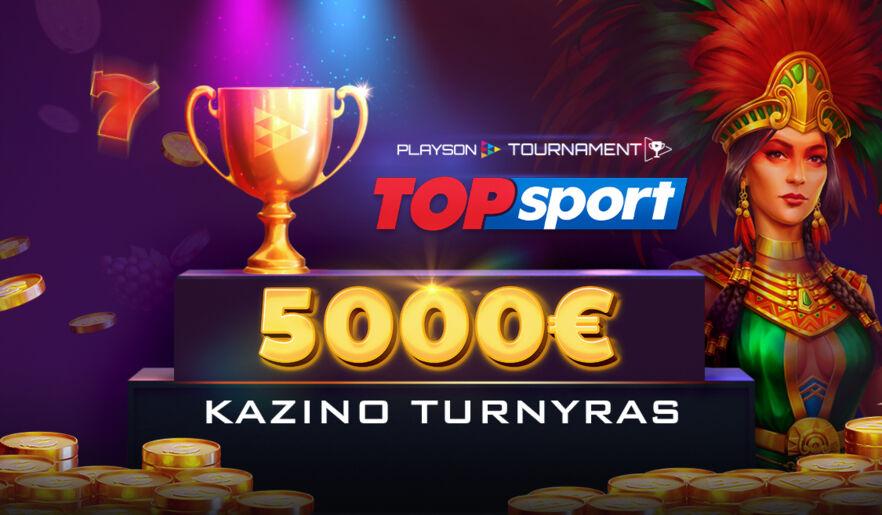 Playson ir TOPsport turnyras