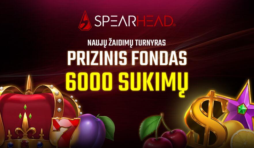 Spearhead naujų žaidimų turnyras