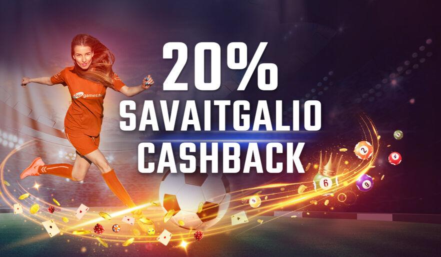 BetGamesTV savaitgalio cashback visiems žaidimams
