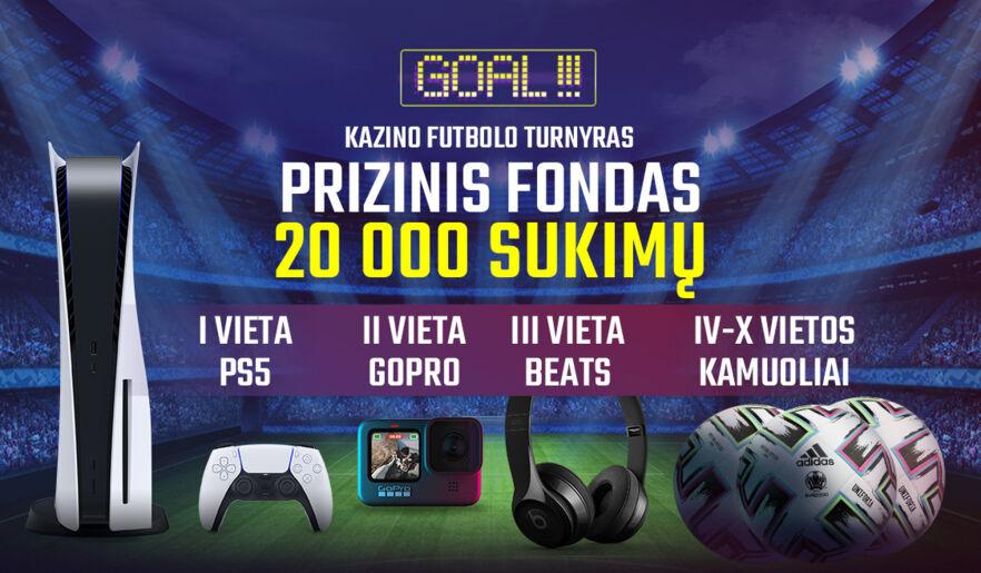 Futbolo žaidimų turnyras