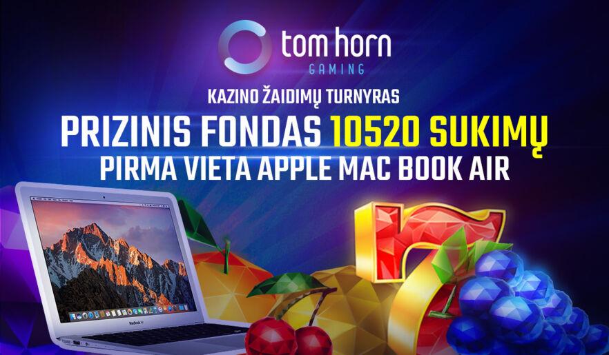 TomHorn kazino turnyras