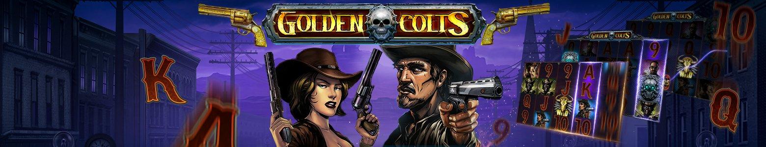 <span style='color: #daa520'>Golden Colts</span> Naujausias laukinių vakarų žaidimas!